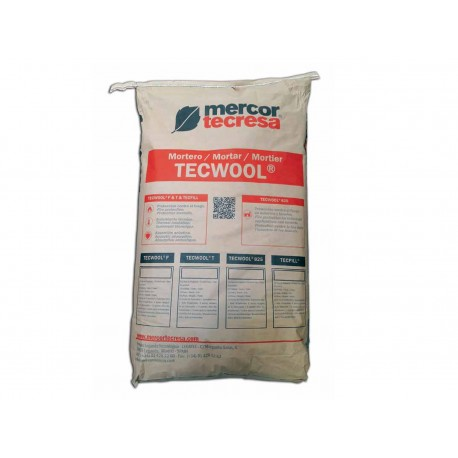 MORTERO TECWOOL
